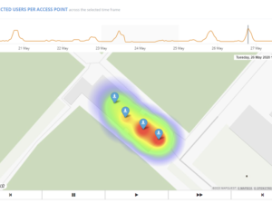 User Heatmaps for UniFi networks