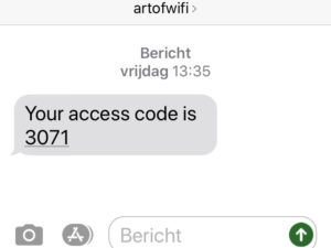 Art of WiFi captive portal now supports more SMS Gateways
